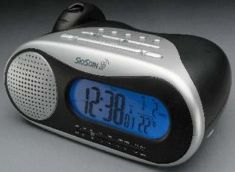 Skyscan Atomic Projection Clock Radio With Temperature At
